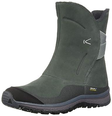 56a0ea4f30 KEEN Women's Winterterra Lea Waterproof Fashion Boot, Stormy  Weather/Turbulence, ...