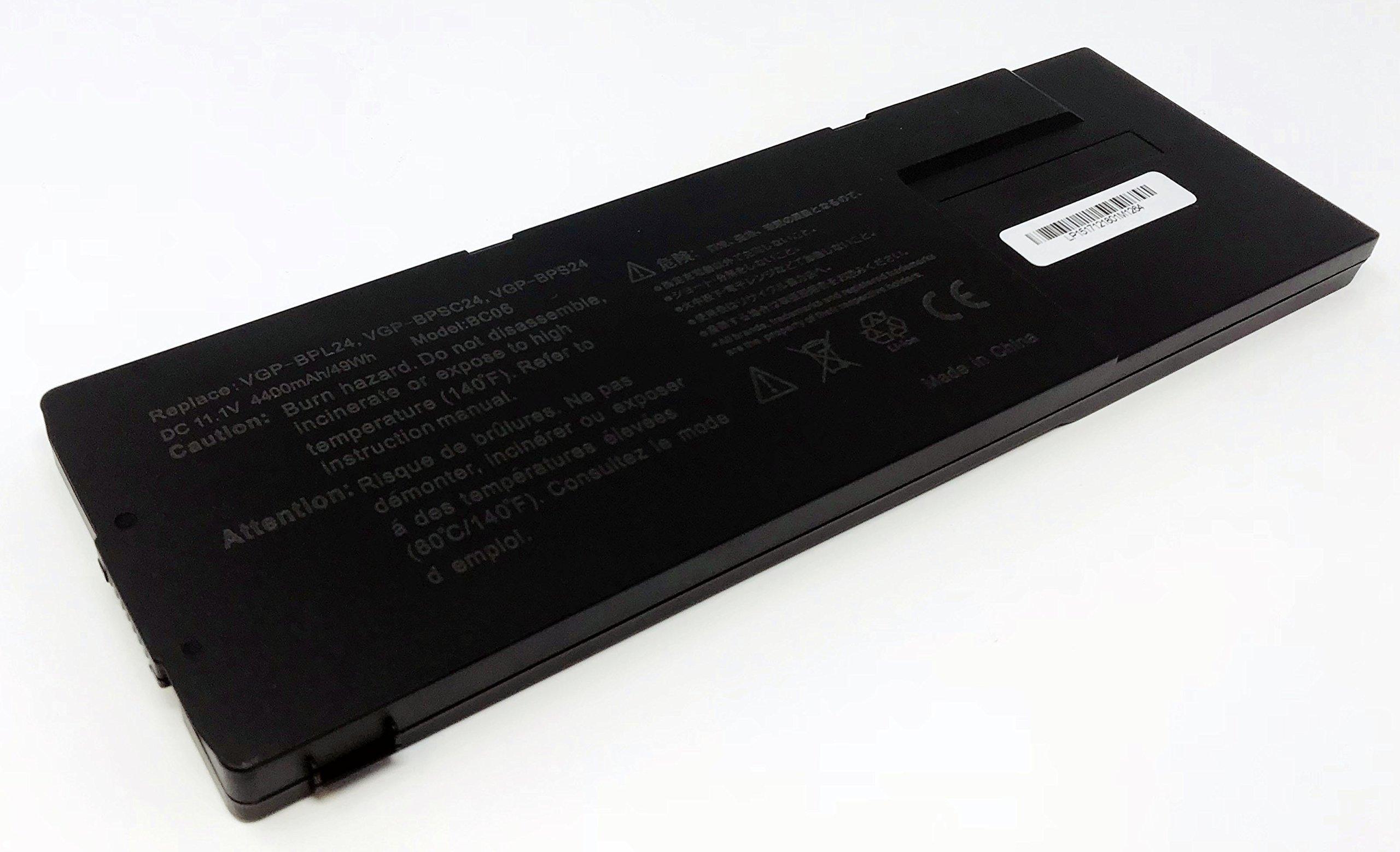Bateria para VGP-BPS24 Compatible VAIO VGP-BPSC24 VGP-BPL24 para Model VPCSA VPCSB VPCSC VPCSD VPCSE SA SB SC SD SE