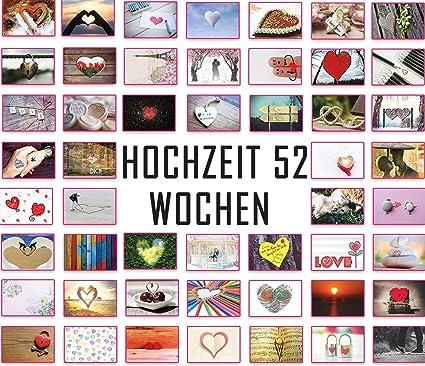 Tarjetas postales de boda, postales de amor, juego de bodas 52 semanas: cada semana una postal.: Amazon.es: Oficina y papelería