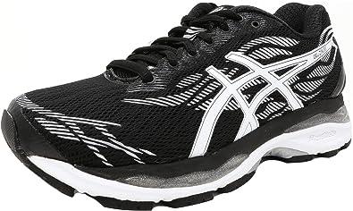 Asics Damen Gel-Ziruss Schuhe, 44 EU, Black/White/Silver: Amazon.de ...