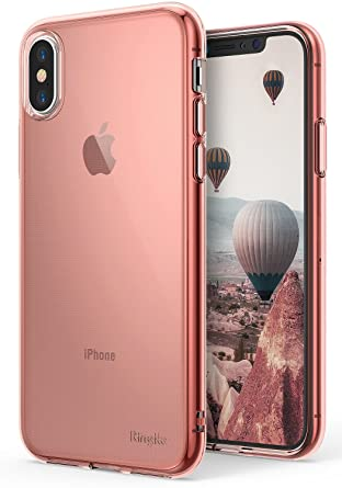 Apple IPhone X Case Ringke AIRRose Gold Crystal Weightless As Air