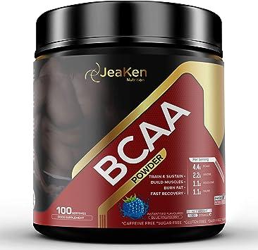 JeaKen AMINOACIDOS BCAA POLVO - Aminoacidos Esenciales ...