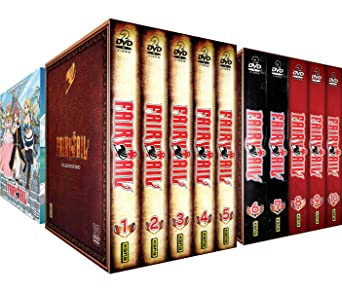 Fairy Tail - Intégrale Saisons 1 à 3 - 3 Coffrets Vol.1 à 15 - 30 DVD: Amazon.es: Hiro Mashima, Shinji Ishihira, A-1 Pictures, Satelight, Bridge: Cine y Series TV