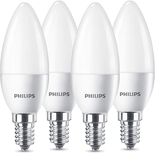 LED white2700 Philips lamp Kelvin470 40WE14warm OZiTPkXu