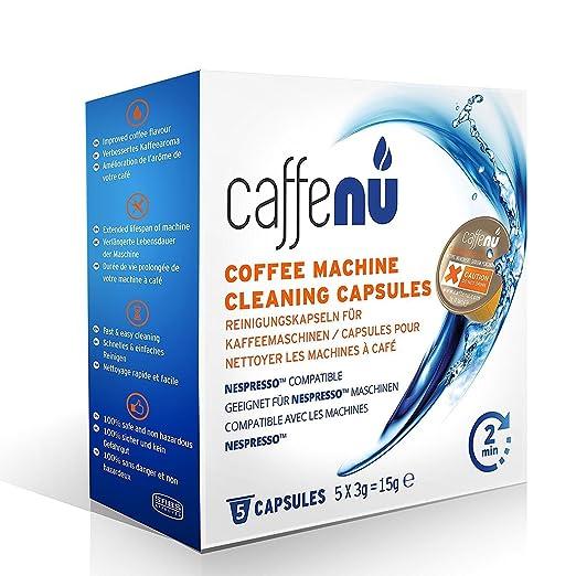 caffenu® Limpieza Máquina de café Nespresso Cápsulas, Pack ...