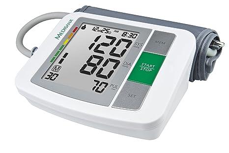 Medisana BU 510 Oberarm- Blutdruckmessgerät 51160, mit Arrhythmie-Anzeige, mit WHO Ampel-Farbskala, für eine präzise Blutdruc