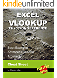 Excel VLOOKUP Function Reference: Cheat Sheet, Basic Examples, Advanced Examples, Arguments