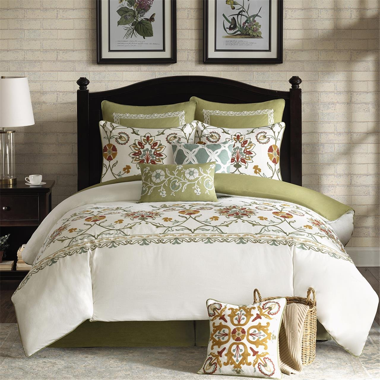 Harbor House Arabesque Comforter Set, Queen, Ivory