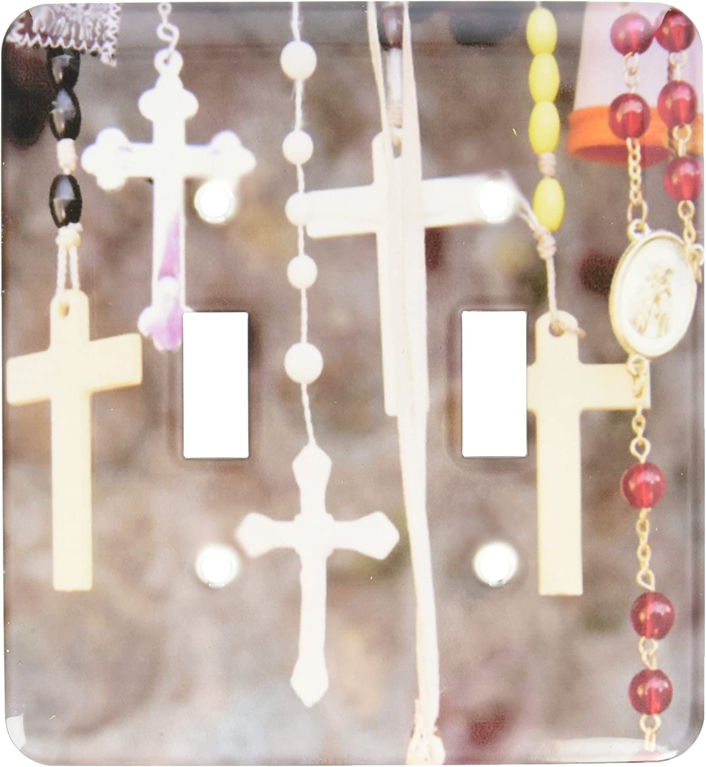 3drose Lsp 92646 2 Crosses Rosaries Christianity New Mexico Us32 Jmr0200 Julien Mcroberts Double Toggle Switch Multi Switch Plates Amazon Com