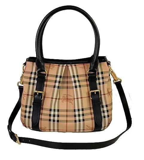 8294cbfd49 Burberry Haymarket Northfield Tote Bag: Amazon.it: Scarpe e borse