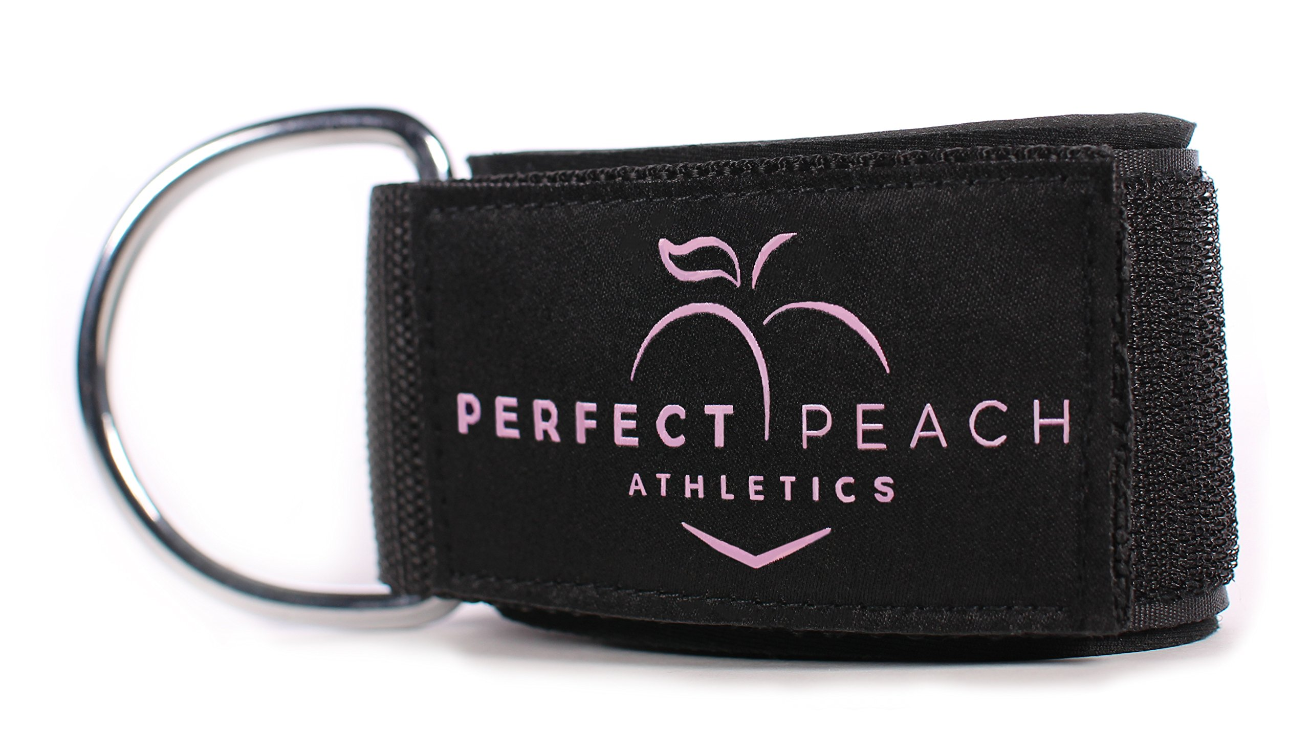 Perfect Peach Athletics Ankle Strap for Cable Machines - Ankle Cuff Gym Accessories for Women - Ankle Strap Cable Attachments for Gym - SINGLE ANKLE STRAP