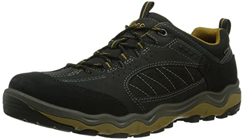 ECCO Ulterra Low, Men's Trekking and Hiking Shoes, Black (BLACK/DRIED  TOBACCO58654