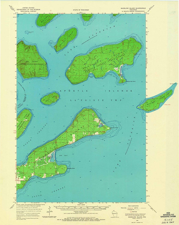 Amazon.com: Historic Map | Madeline Island, Wisconsin (WI ... on cable map, osceola map, superior map, oconomowoc map, winter map, danbury map, big bay town park map, ashland map, apostle islands map, green lake map, isle royale map, langlade county map, monroe map, whitewater map, big chetac lake map, wausau map, sparta map, madison map, great lakes map, rice lake map,