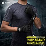SIMARI Workout Gloves for Women Men,Training Gloves with Wrist Support for Fitness Exercise Weight Lifting Gym Lifts Made of Microfiber and Lycra SMRG902
