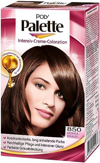 Poly Palette Intensiv Creme Coloration 850 Mokkabraun Stufe 3