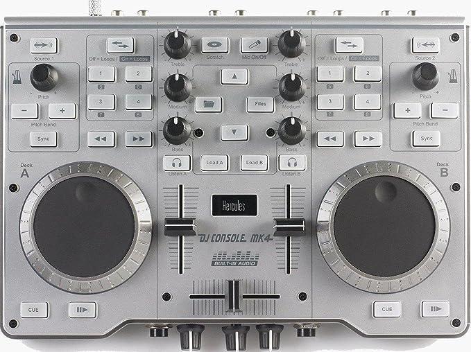 Amazon.com: Hercules DJ Console MK4: Musical Instruments