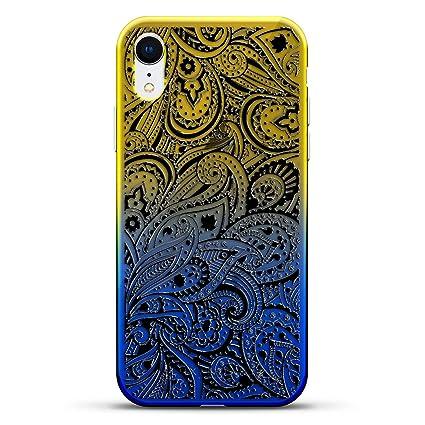 Amazon.com: Funda para iPhone Xr con diseño de lujo ...