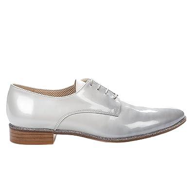 Jhay Chaussures Femme Verni 4951 Millim À Gris Lacets nX8P0kwO