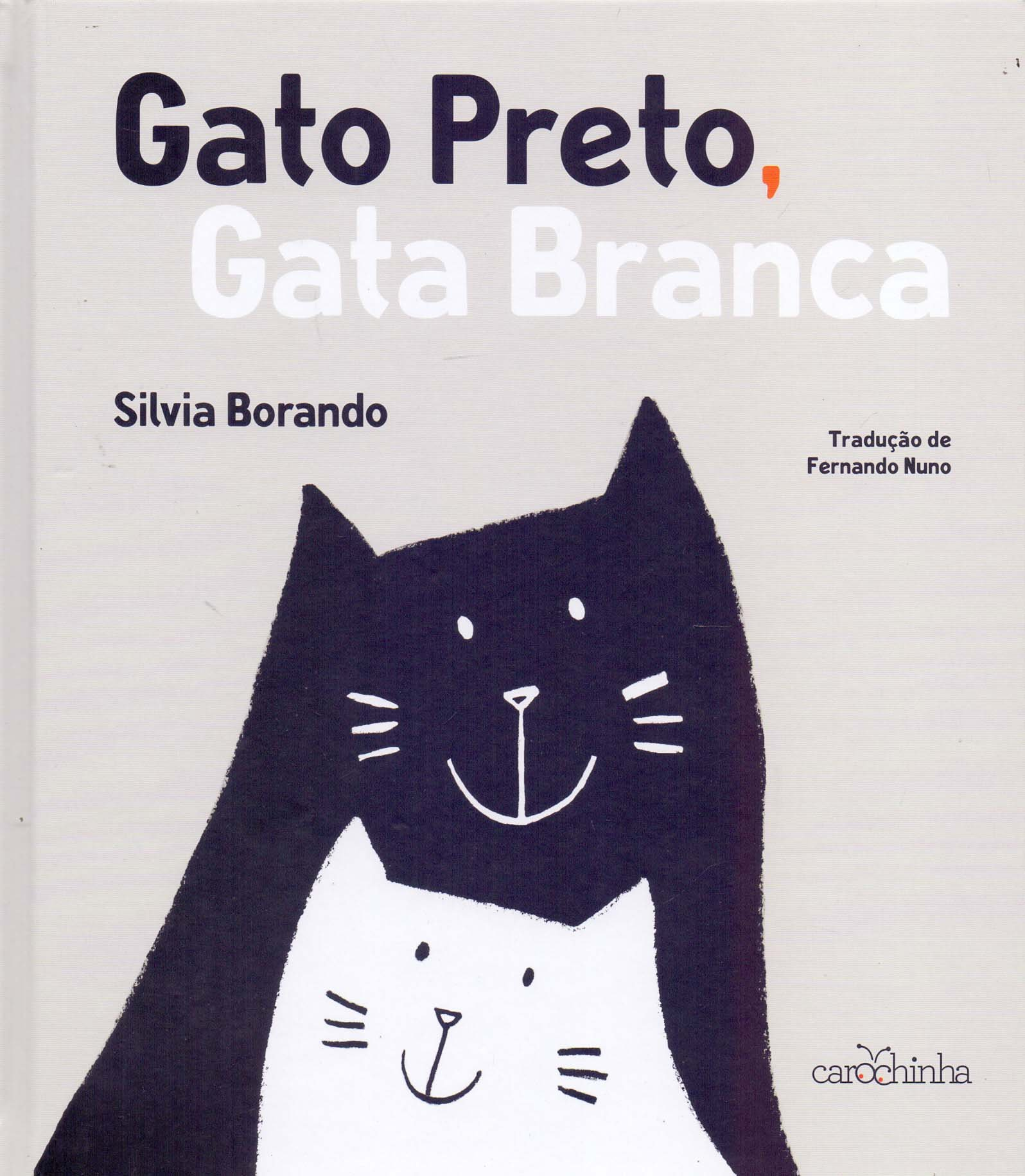 Gato Preto Gata Branca Silvia Borando 9788595540200