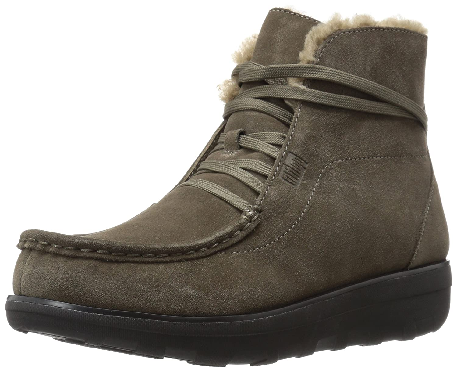 FitFlop Womens Loaff Lace-up Ankle Boot B01IC55806 7 B(M) US|Bungee Cord