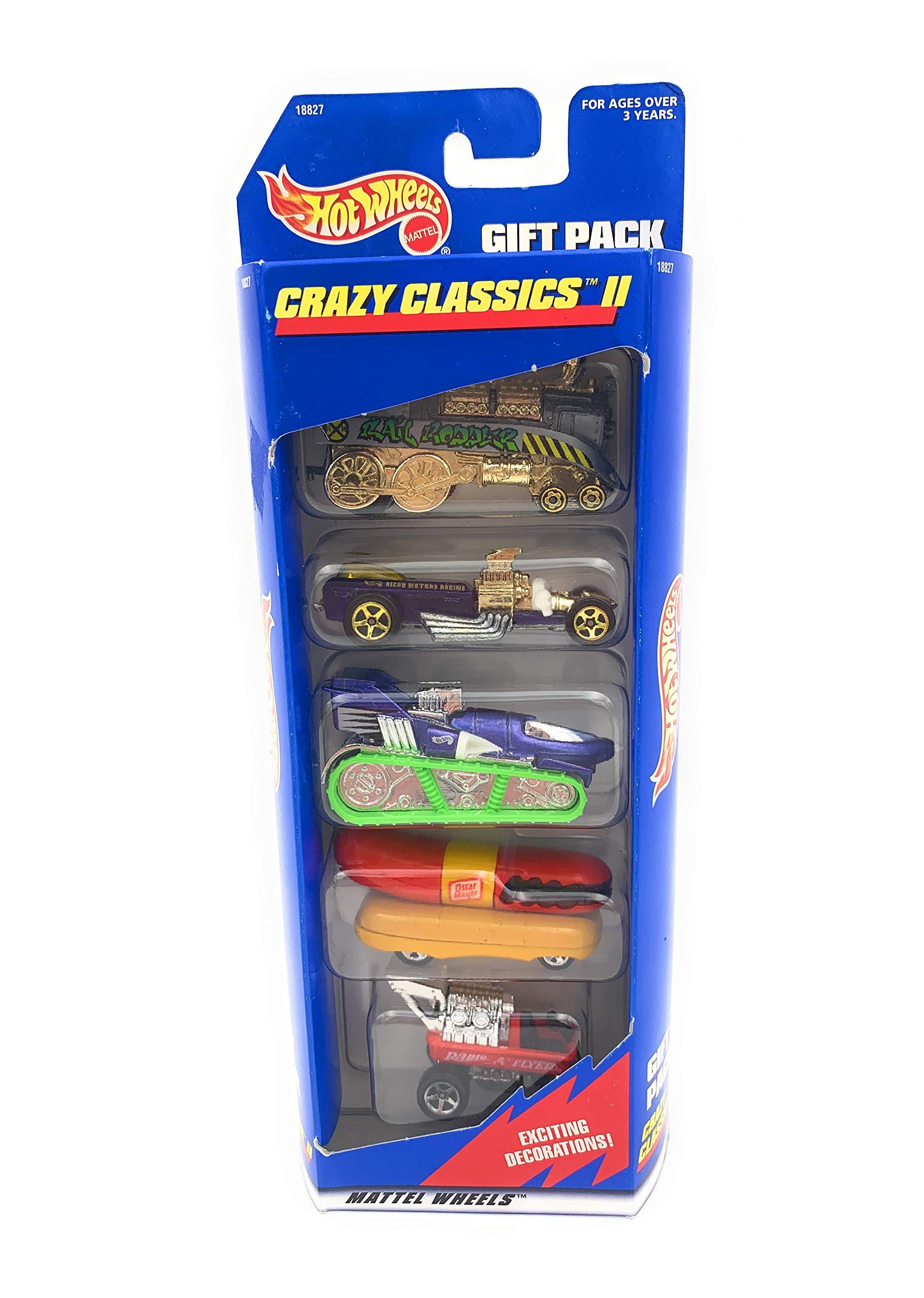 Hot Wheels 1997 Crazy Classics II Gift Pack