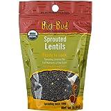 ShaSha Organic Sprouted Bio-Buds, Lentils, 16oz (454g)