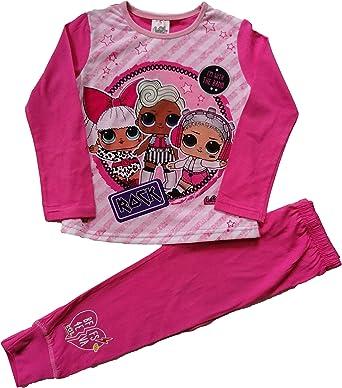 LOL Surprise! Pijama para niñas Rosa rosa 7-8 Años: Amazon.es ...