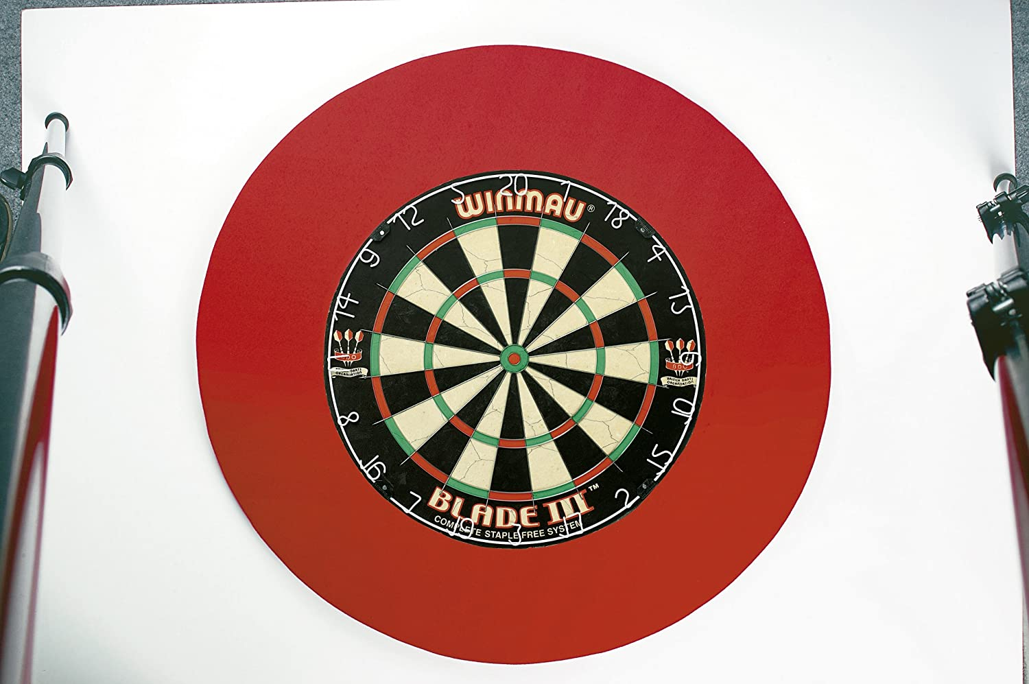 Dartboard Surround/Catchring in ROT Premierdarts