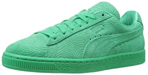 PUMA Women's Suede Classic Colored WN'S Classic Style Sneaker, Simply Green/Simply, 7.5 B US