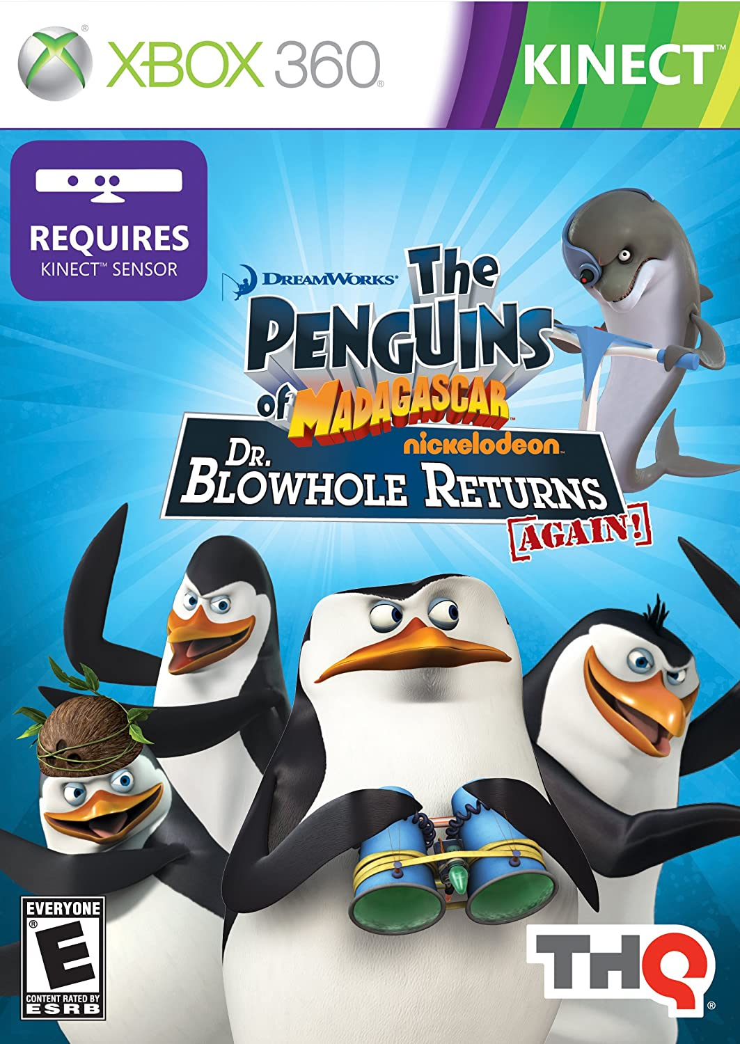 Amazoncom Penguins of Madagascar Dr Blowhole Returns Again