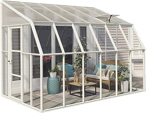 Rion Sun Room - Invernadero (plástico, 384 x 258 x 266 cm, incluye ...