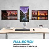AVLT-Power Triple Monitor Mount Stand - Three
