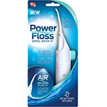 Power Floss - Air Powered Dental Water Jet