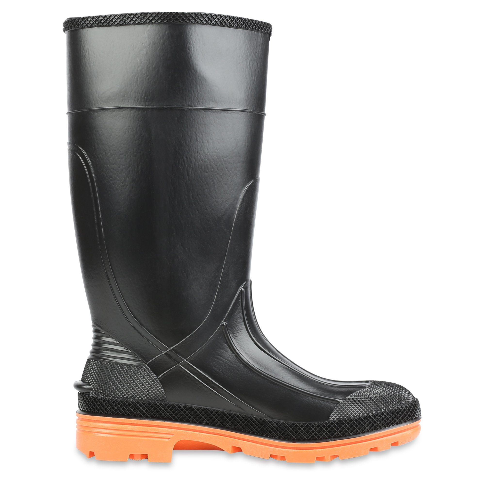 Servus PRM 15'' PVC  Men's Work Boots with Steel Toe and Steel Midsole, Black & Orange (75145C) by Servus (Image #6)