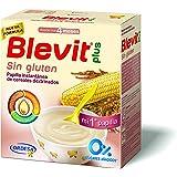 Blevit Plus, Cereales para bebé , sin gluten- 2 de 600 gr. (Total 1200 gr.)
