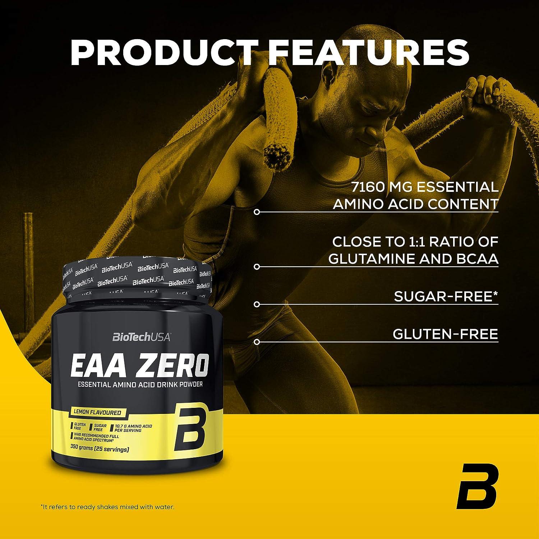 Biotech USA EAA Zero Aminoácidos Sabor Limón - 330 gr (5999076220564)