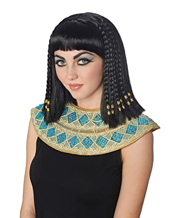 Fabulous Amazon Com Costume Culture Womens Cleopatra Braided Wig Deluxe Hairstyles For Women Draintrainus
