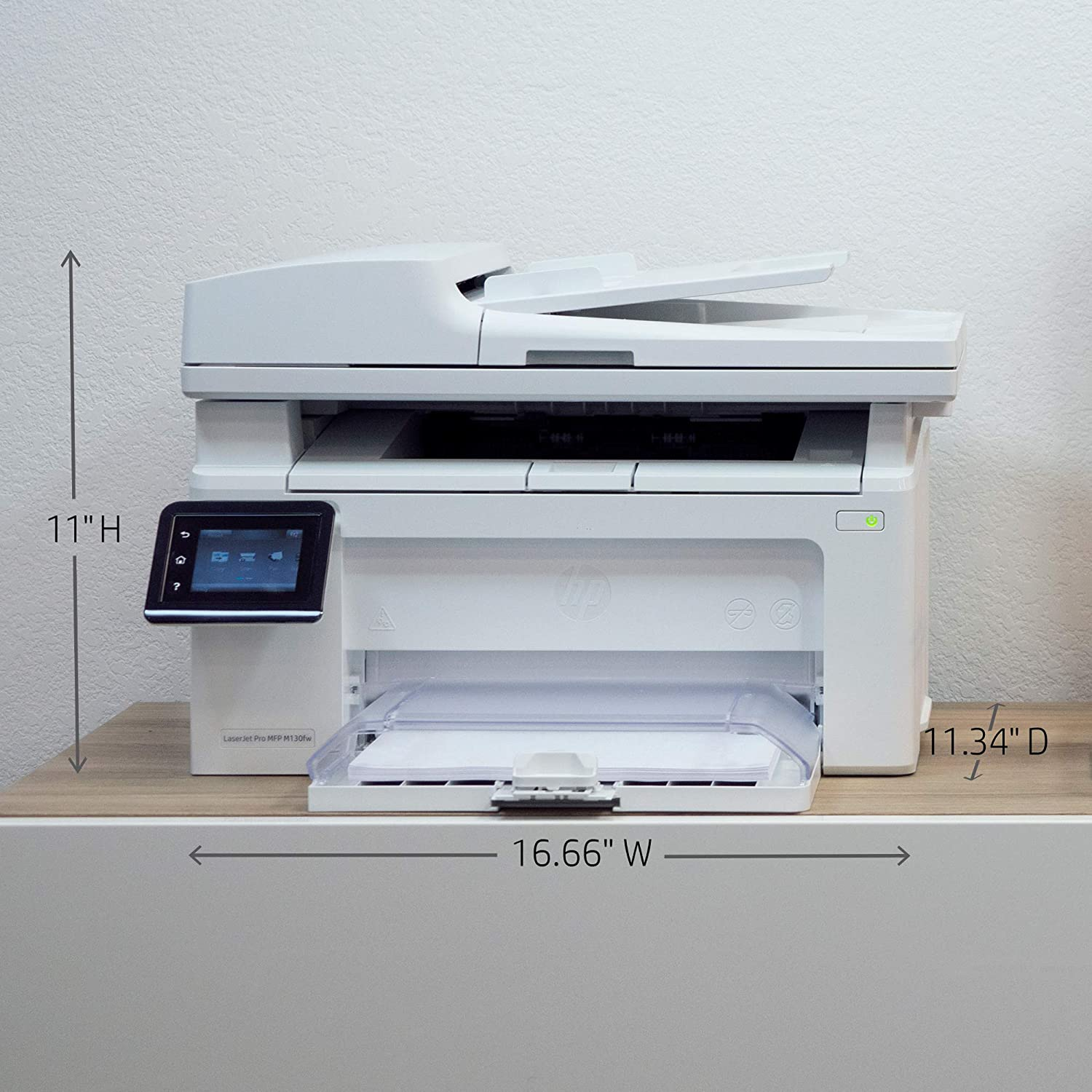 HP LaserJet Pro M130fw All-in-One Wireless Laser Printer (G3Q60A), Replaces  M127fw