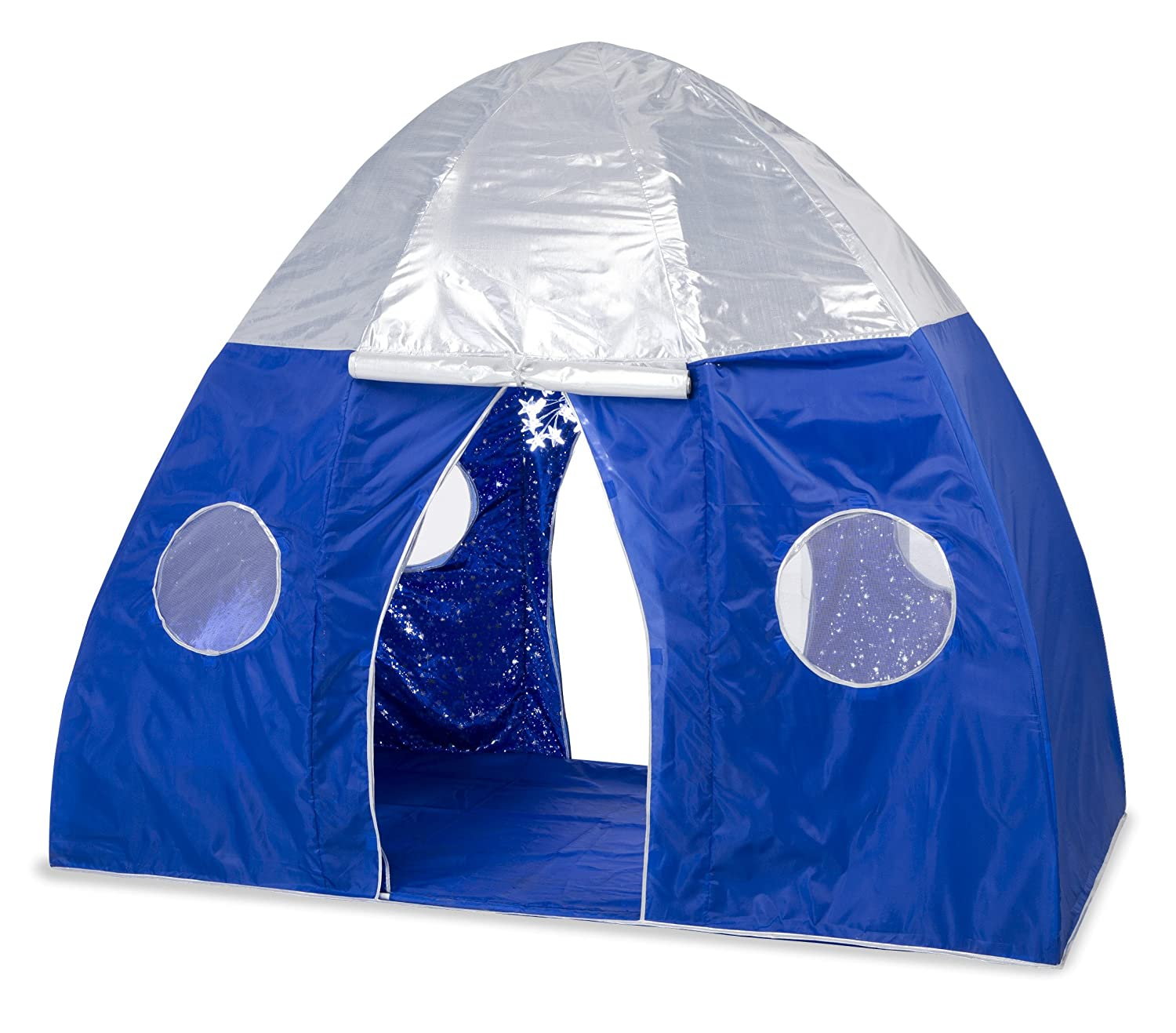 Amazon.com HearthSong Galactic Space Bed Tent Playhouse .  sc 1 st  Ammcobus & Ammcobus || Full size bed tent with light