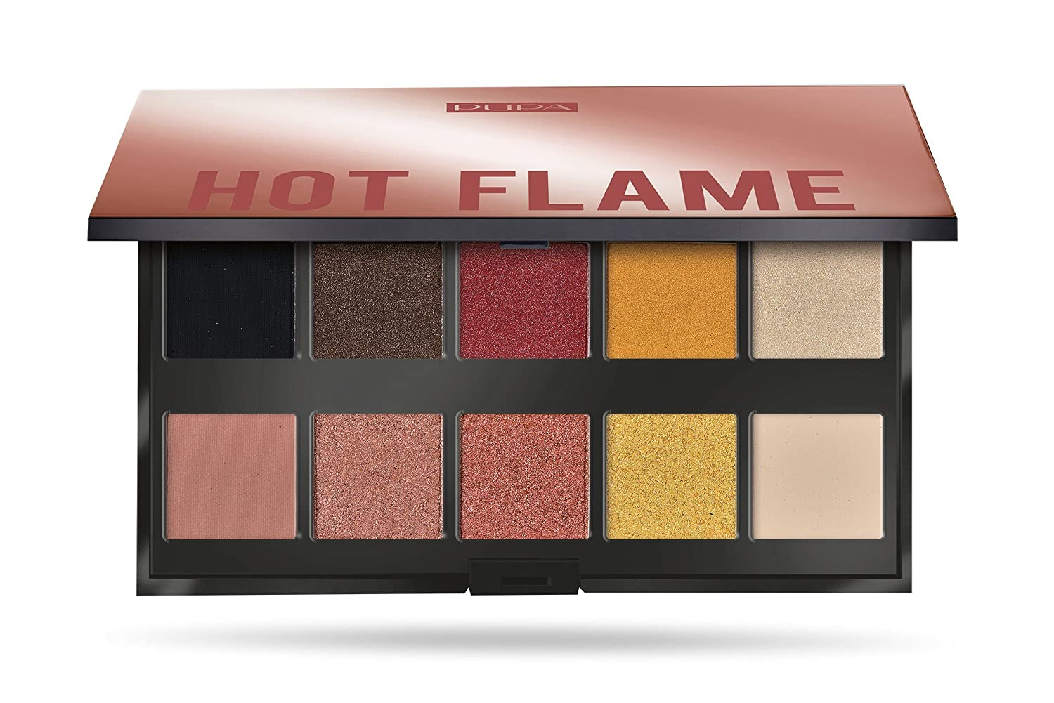 Pupa Make Up Stories Palette 10 Ombretti Hot Flame 002 MICYS COMPANY
