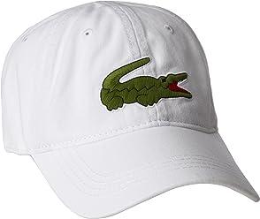 c0f275d3d3c60f Lacoste Men's Big Croc Gabardine Cap