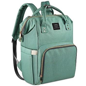 LAND Mummy Diaper Bag Backpack Organizer Maternity For Mother Shoulder Hand Bag