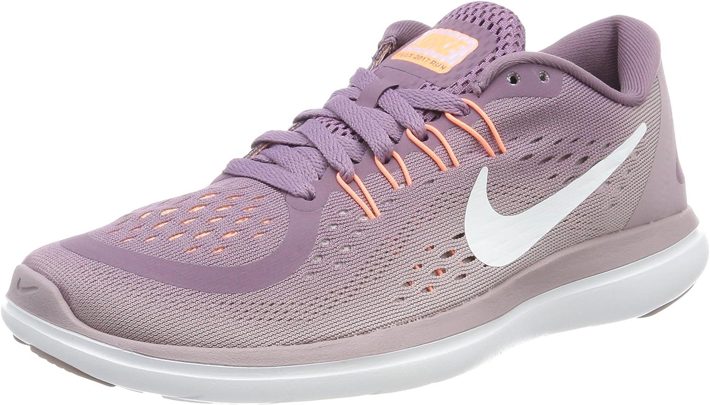 Nike Flex 2017 RN, Zapatillas de Entrenamiento para Mujer, Morado (Violet Dust/White-Plum Fog-Iced Lilac-su), 42.5 EU: Amazon.es: Zapatos y complementos