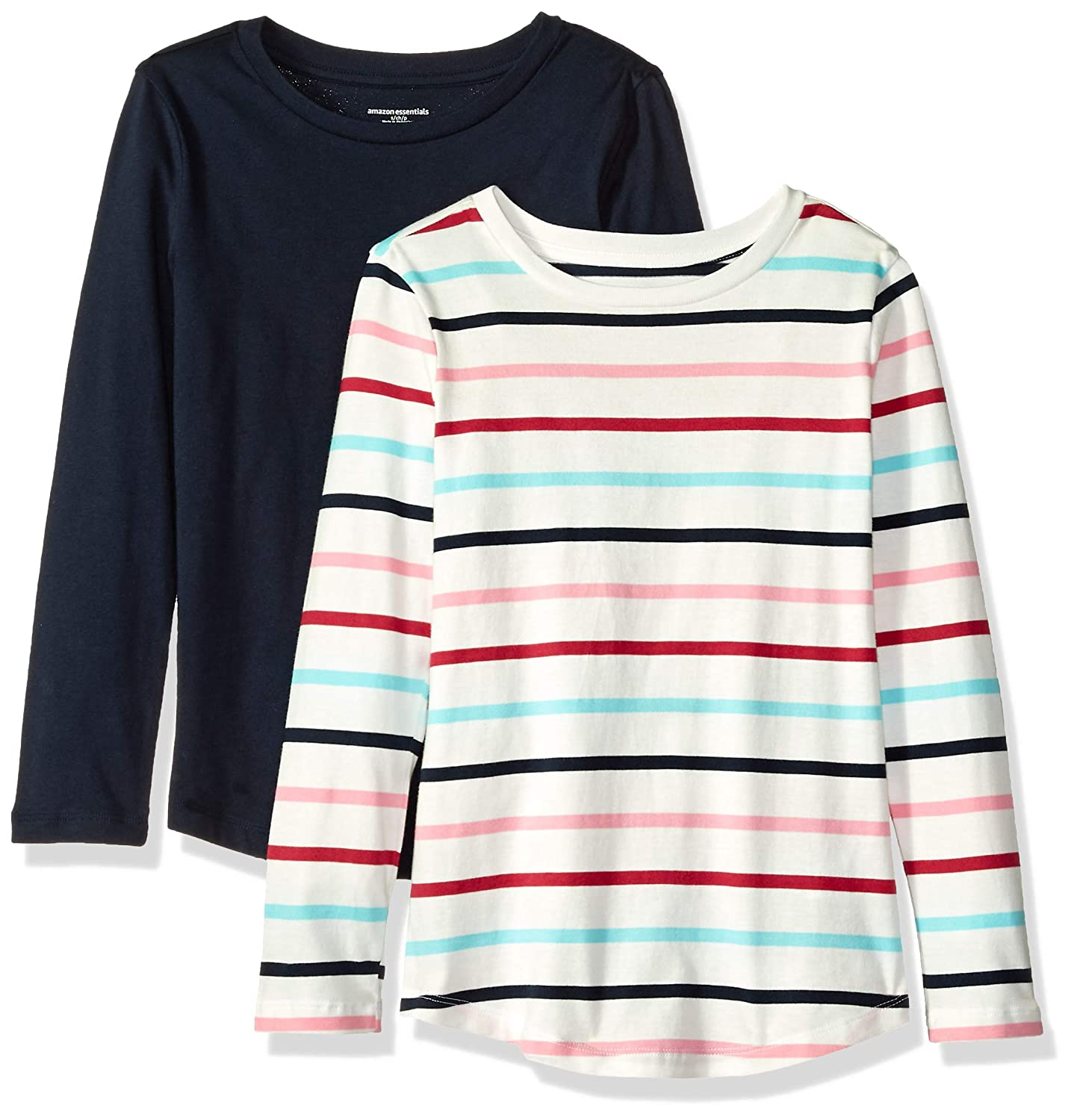 Essentials Girls Girls' 2-Pack Long-Sleeve Tees GAE45083F18