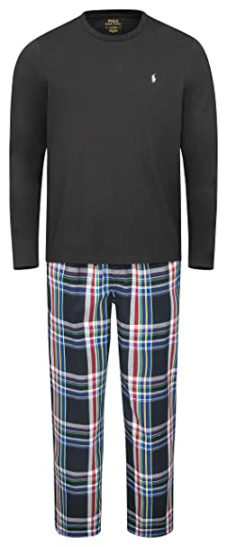 POLO RALPH LAUREN - Pijama - para Hombre Multi (001) M: Amazon.es ...