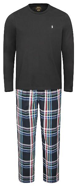 POLO RALPH LAUREN - Pijama - para Hombre Multi (001) M: Amazon.es ...