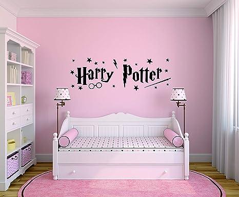 Camera Da Letto Stile Harry Potter : Profilesign harry potter adesivo da parete circa 1014 x 330 mm
