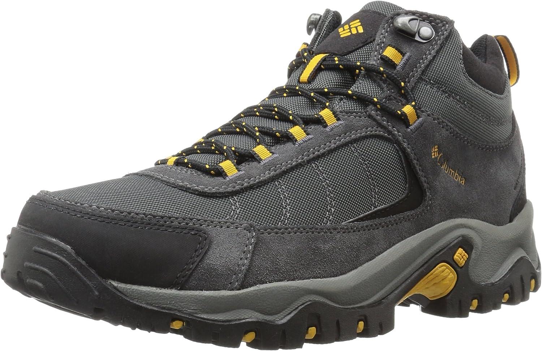 Columbia Men s Granite Ridge Mid Waterproof Boot, Breathable, Microfleece Lining