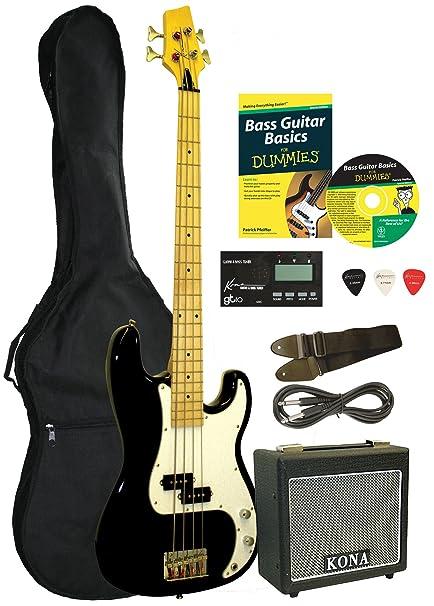 Bass Guitar Starter Pack For Dummies