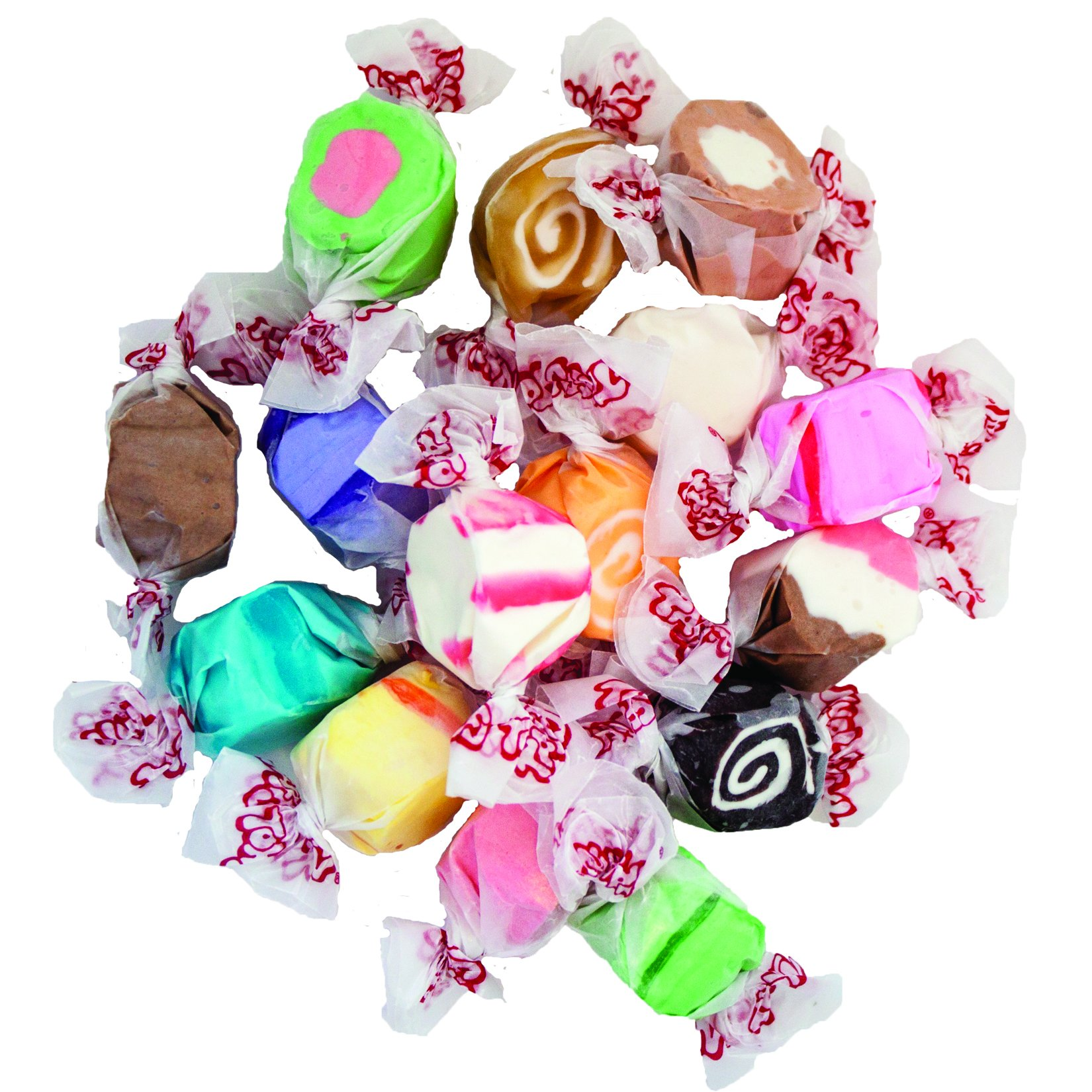 Salt Water Taffy - Assorted Tropical, 5 lbs